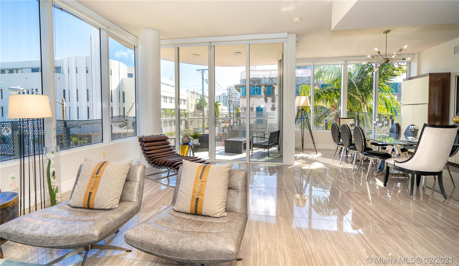 Lifestyle ~ Dual Luxury ~ Style...The largest luxury condo available on Miami Beach - less than $2MI
