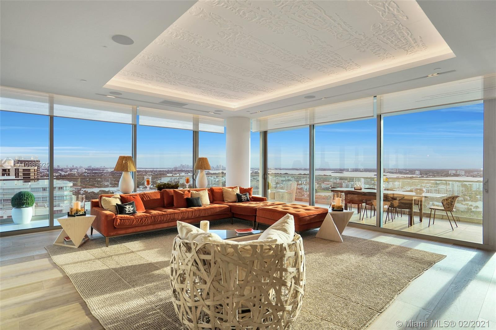 Enjoy Exclusive Oceanfront condo living from this lower Penthouse comprised of 2 units. Professional