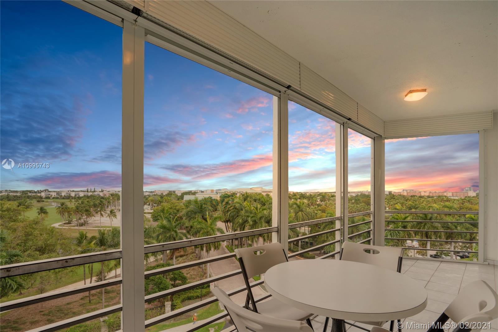 Beautiful and spacious 2b/2b unit at Fairways Rivera Condo. Unobstructed views of The Diplomat Golf