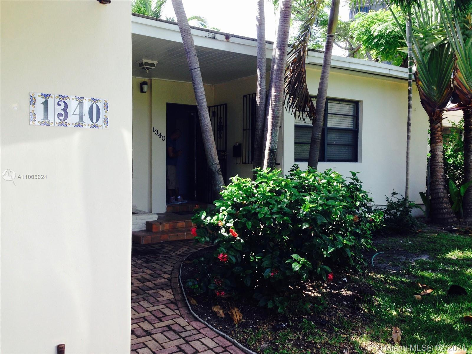 Great location . Build your new home, remodel existing, or just turn key and enjoy Miami Beach