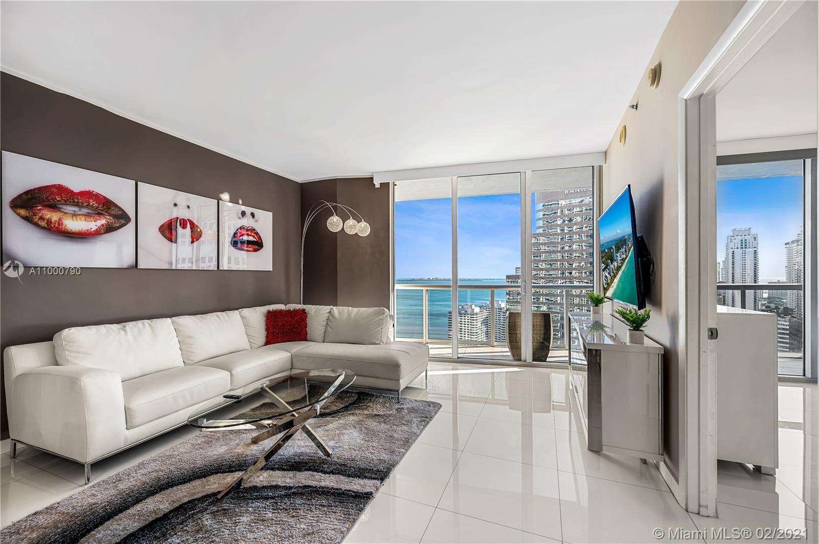 INVESTMENT OPPORTUNITY. This is the largest luxury 2 bed 1 bath in the building this condo has been