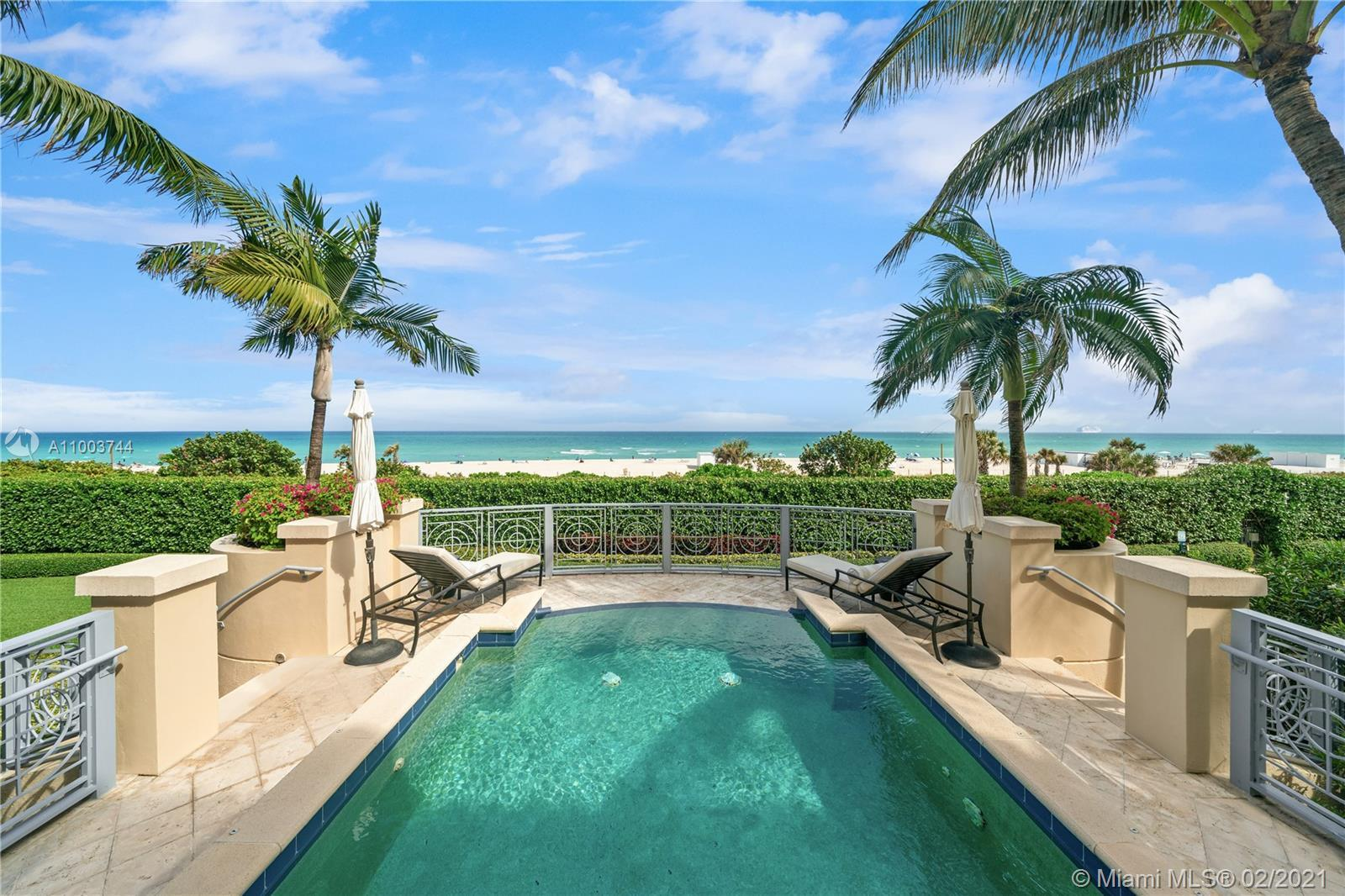 Your own private beachfront villa in the heart of Millionaires row. Breathtaking, unobstructed ocean