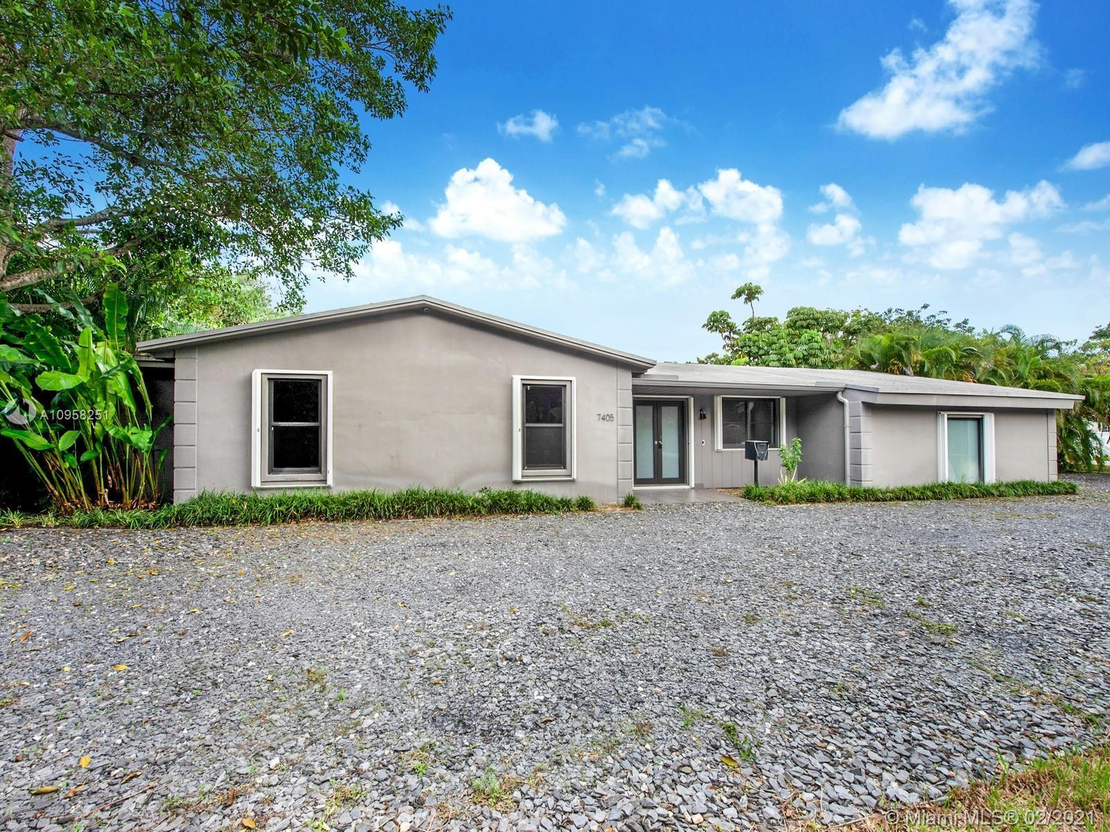 Amazing one-story home located in the heart of Pinecrest. This corner home has been remodeled in 201