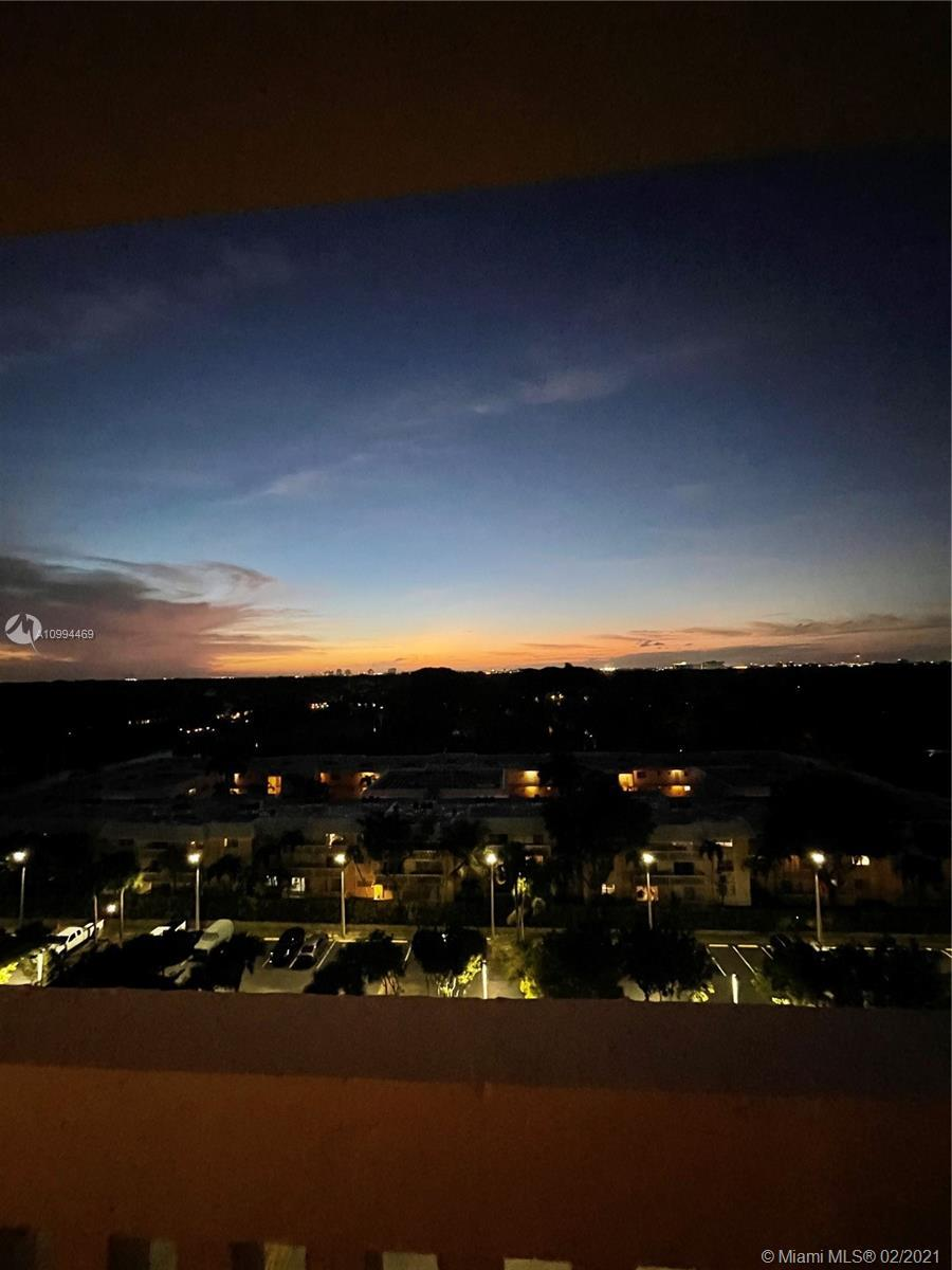 Beautifully remodeled 1/1.5 in Gables Waterway Towers! Updates include wood & granite kitchen, main