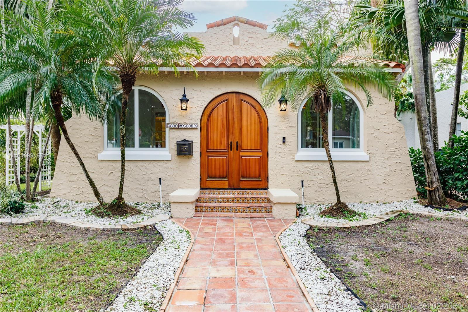 Beautifully renovated Old Spanish Home near Miracle Mile & Granada Golf Course. Impeccably remodeled