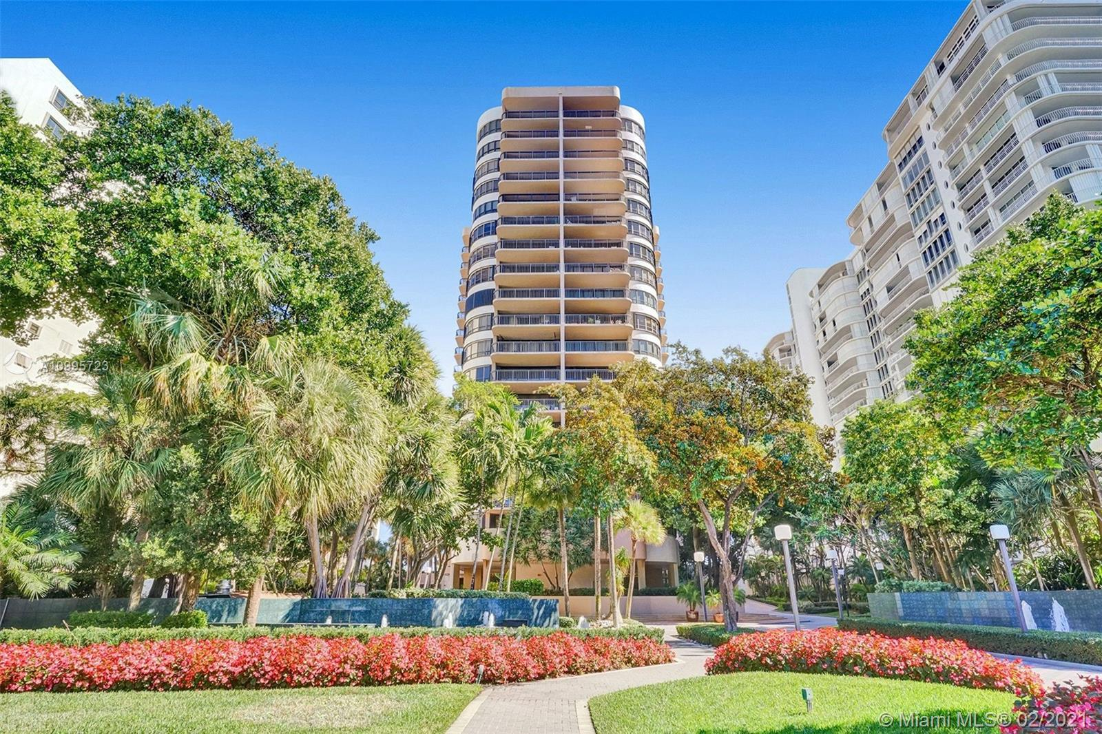 """The name says it all of The """"Tiffany"""" of Bal Harbour building. This spacious 2/2.5 2018 sq. ft. unit"""
