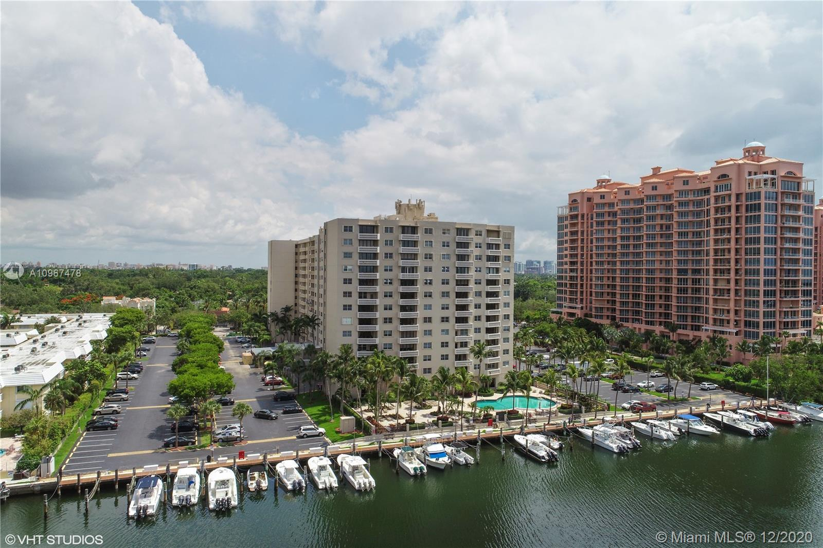 Gables Waterway Towers is a luxury Doorman building that has just been completely renovated. The re