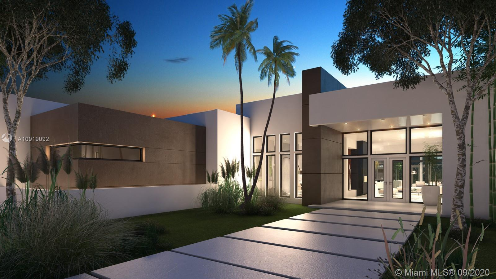BRAND NEW CONSTRUCTION (Ready by Abril 3oth 2021), ultra contemporary total 7,000 sqf ONE STORY wond
