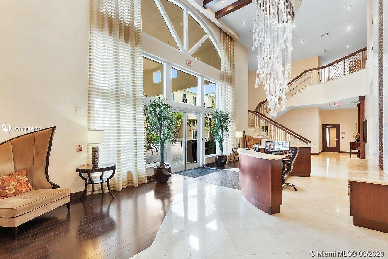 Totally Furnished Resort Style 1/1 bath located in the Luxurious Casa Costa Building the intercostal