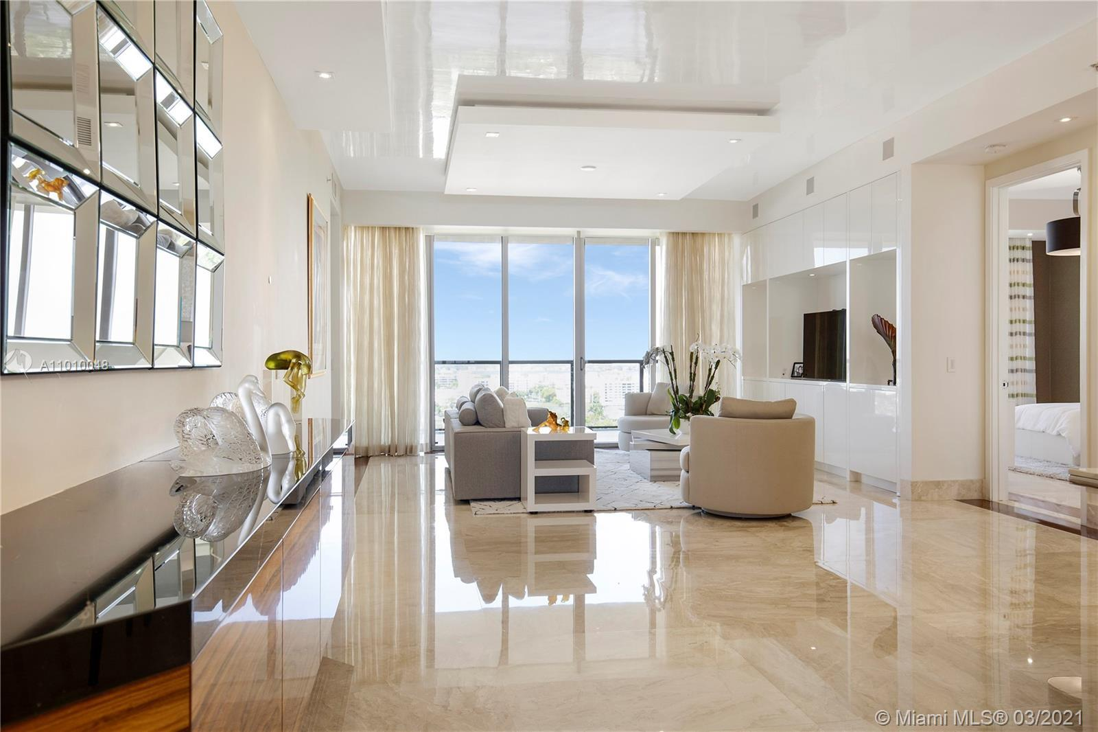 Immaculate oceanfront residence at the iconic St. Regis Bal Harbour now available for those looking