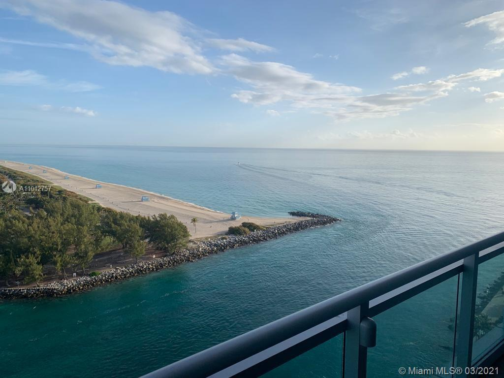 Amazing views from this 2/2/1 1657 sq ft  condo hotel unit at Ritz Carlton Bal Harbour. Unit is part