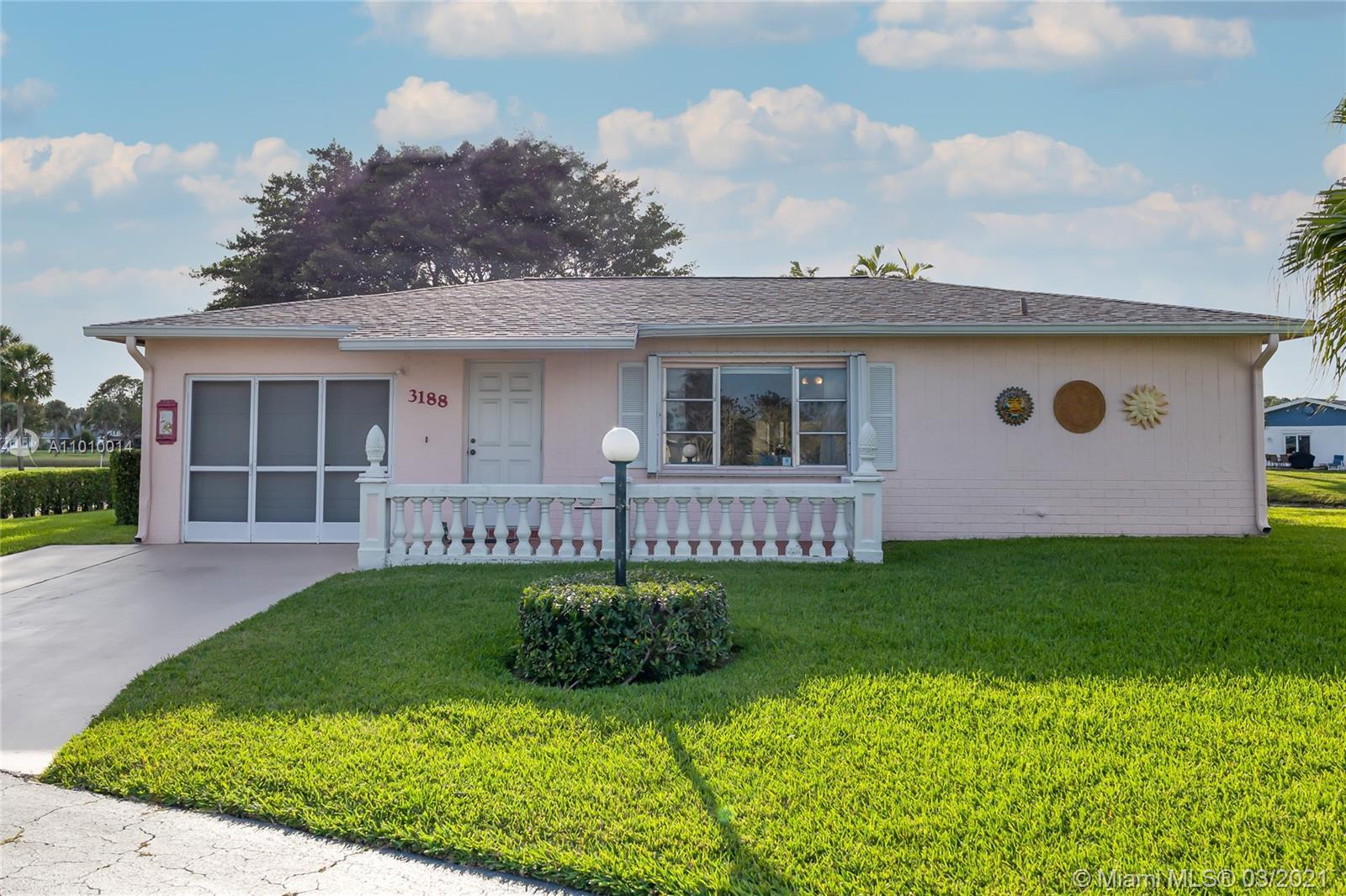 A must see! SFH, 2/2 w/1 car located on an over sized Corner lot. Large Tile Thru Out most of the ho