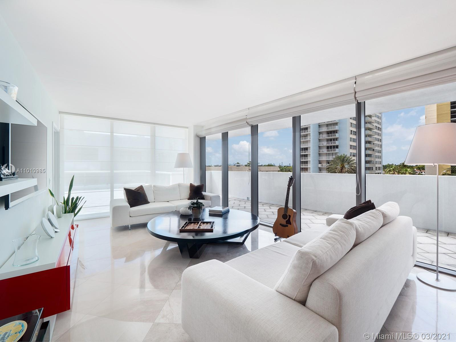 Entertain in style and ease in this corner unit pied-a-terre at Mei Miami Beach, on its spectacular