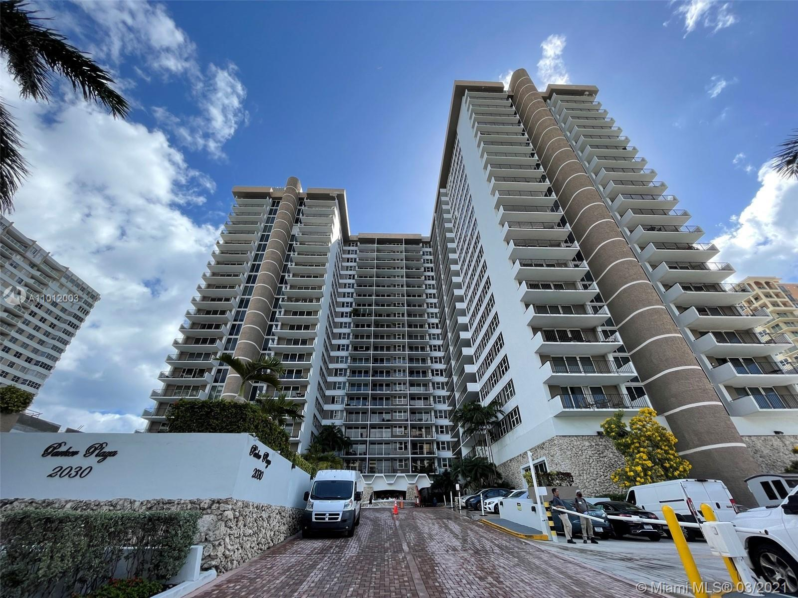 Beautifully remodeled, oceanfront 2bd 2bath unit with ocean and intracoastal views. Very spacious, t