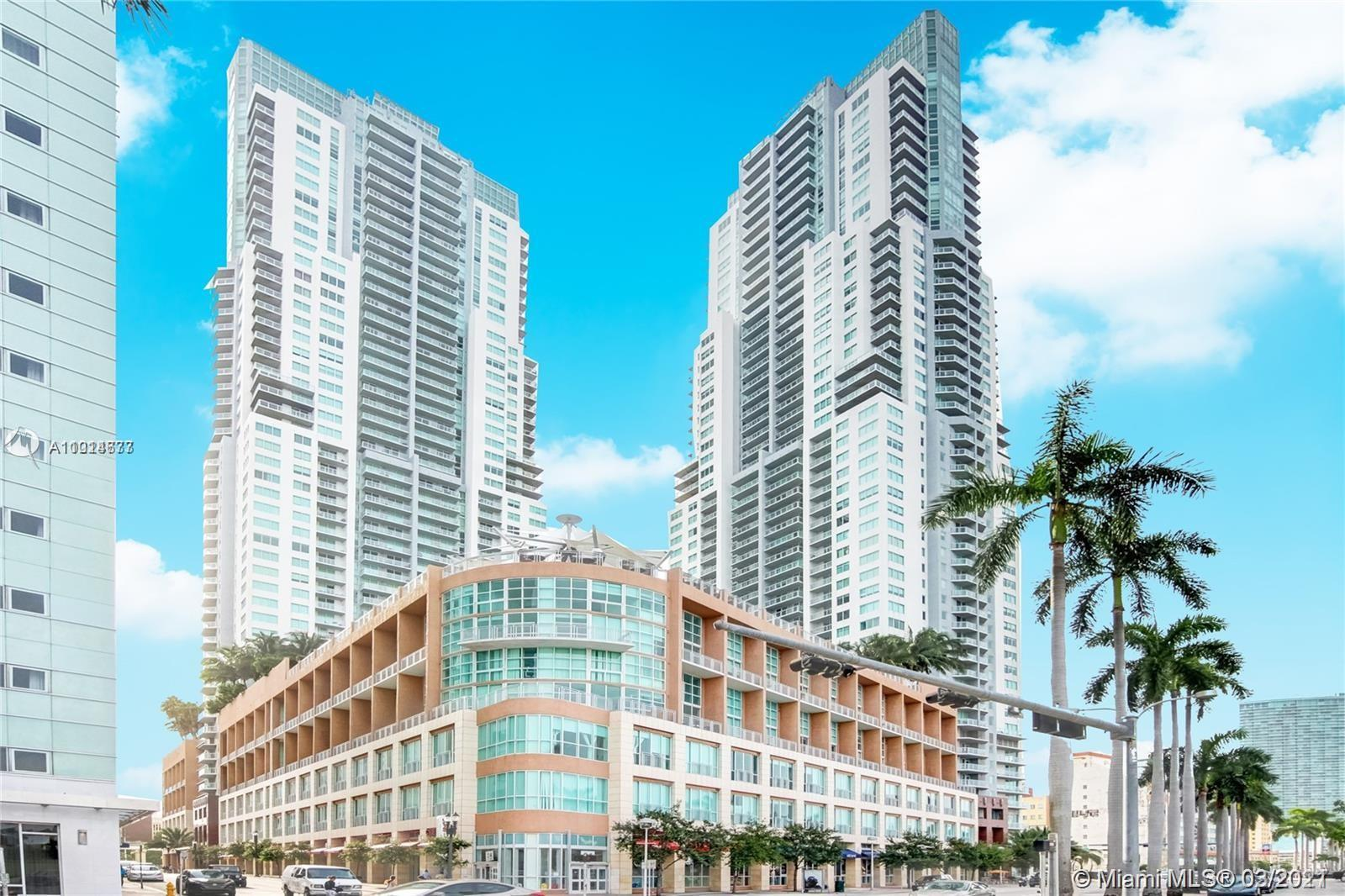 One of the most beautiful units, 2 bedroom, 2 baths,  floor to ceiling windows with ocean views of s