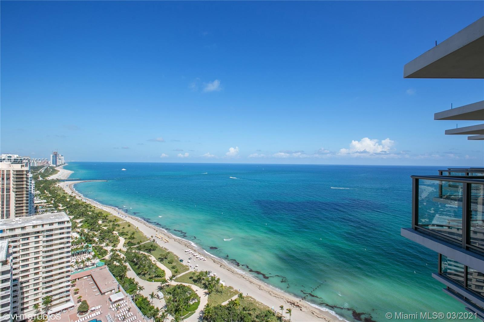 Tenant occupied till August 2021.  Elegant, Sophisticated & One of A Kind Ocean Front Penthouse. As