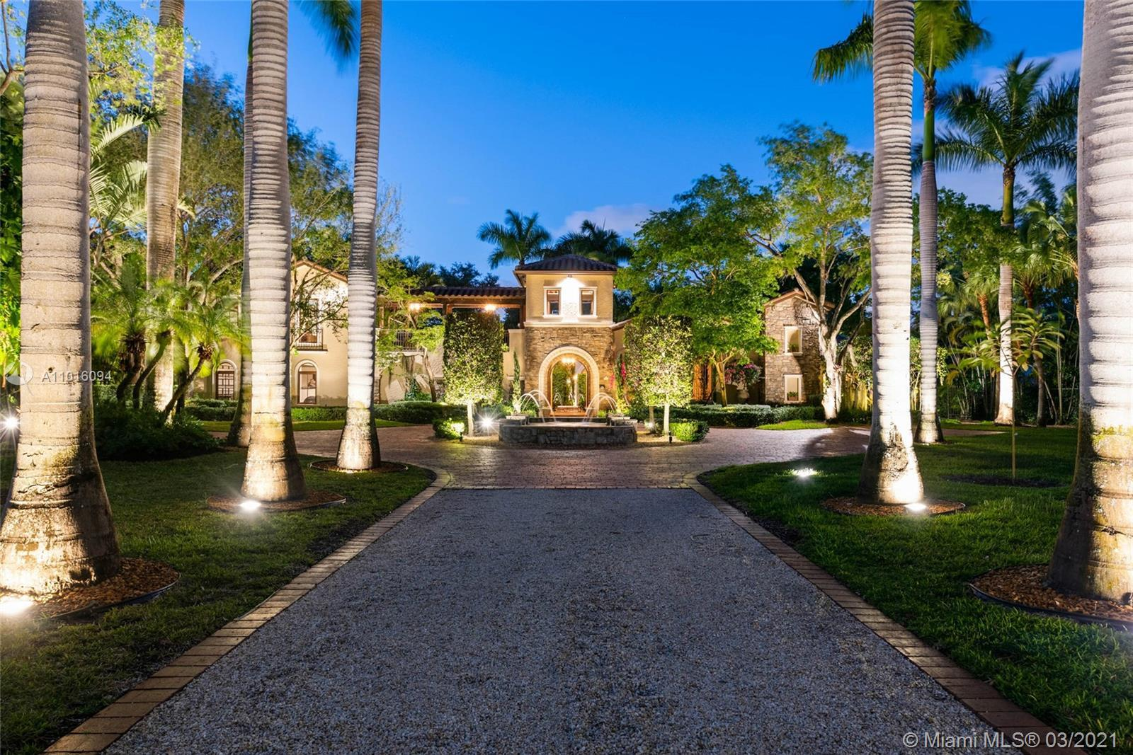 Breathtaking and Extraordinary! Utterly rich in architectural design & Tuscan-inspired estate, set o