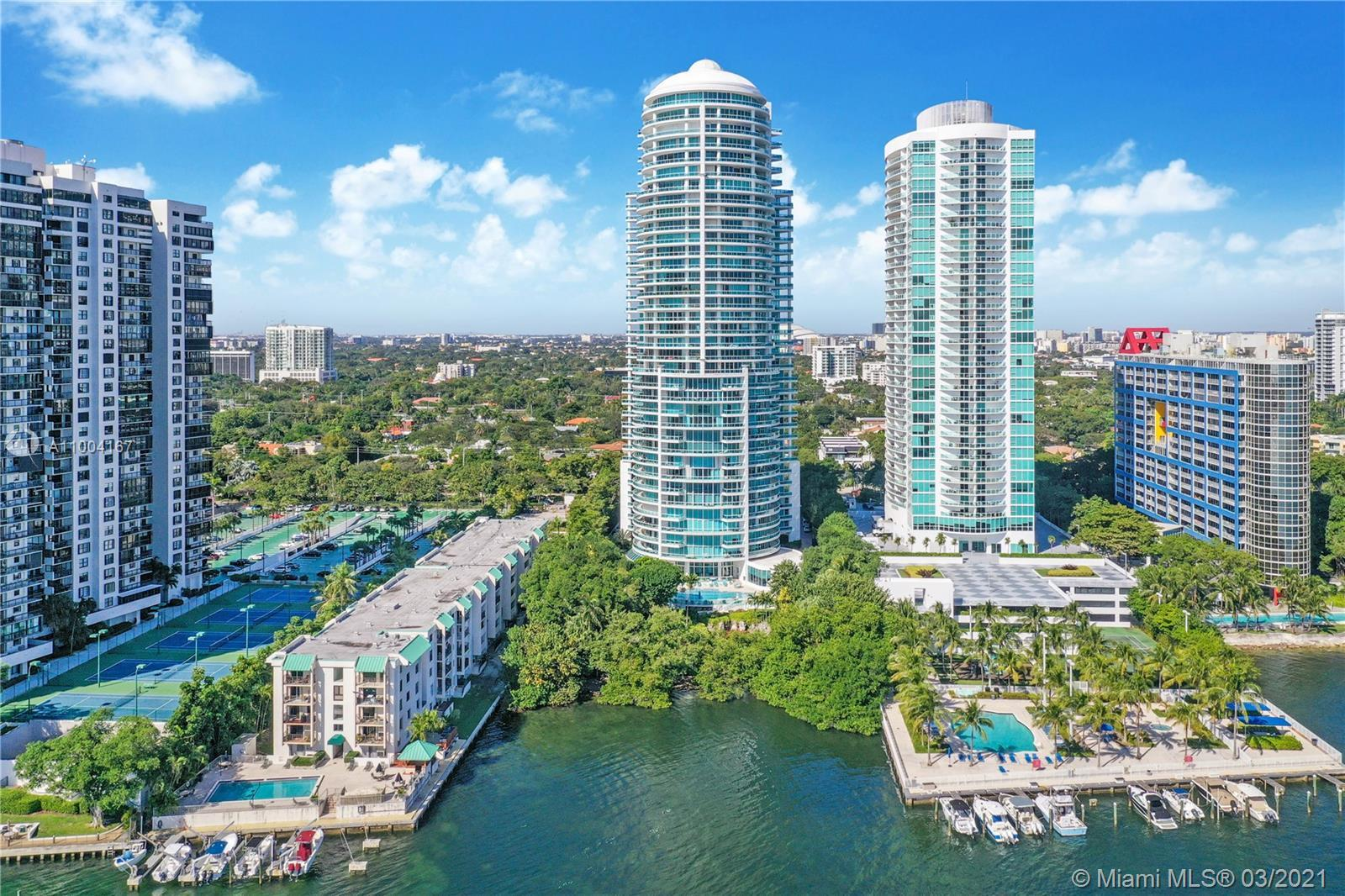 This is Brickell living exemplified. Located in the iconic Bristol Towers, this impeccable, fully fu