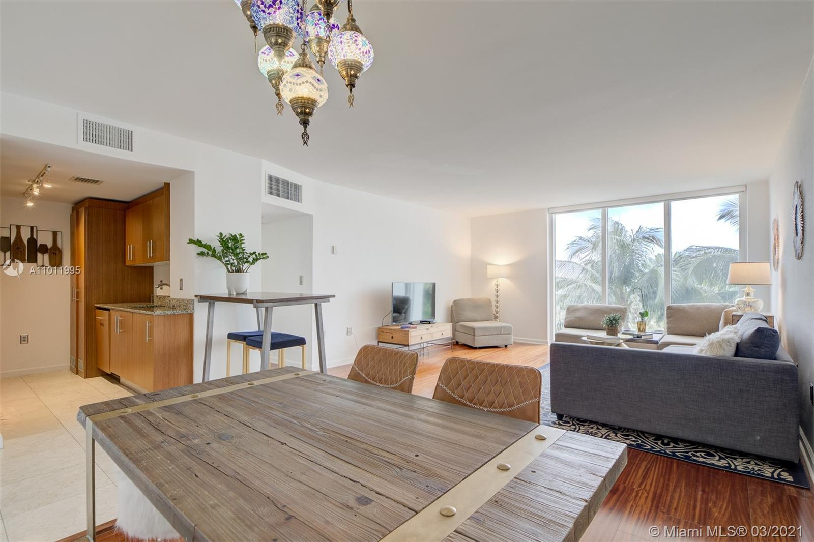 Best priced 2bd 2bath with many upgrades. Beautiful wood floors throughout with marble floors in kit