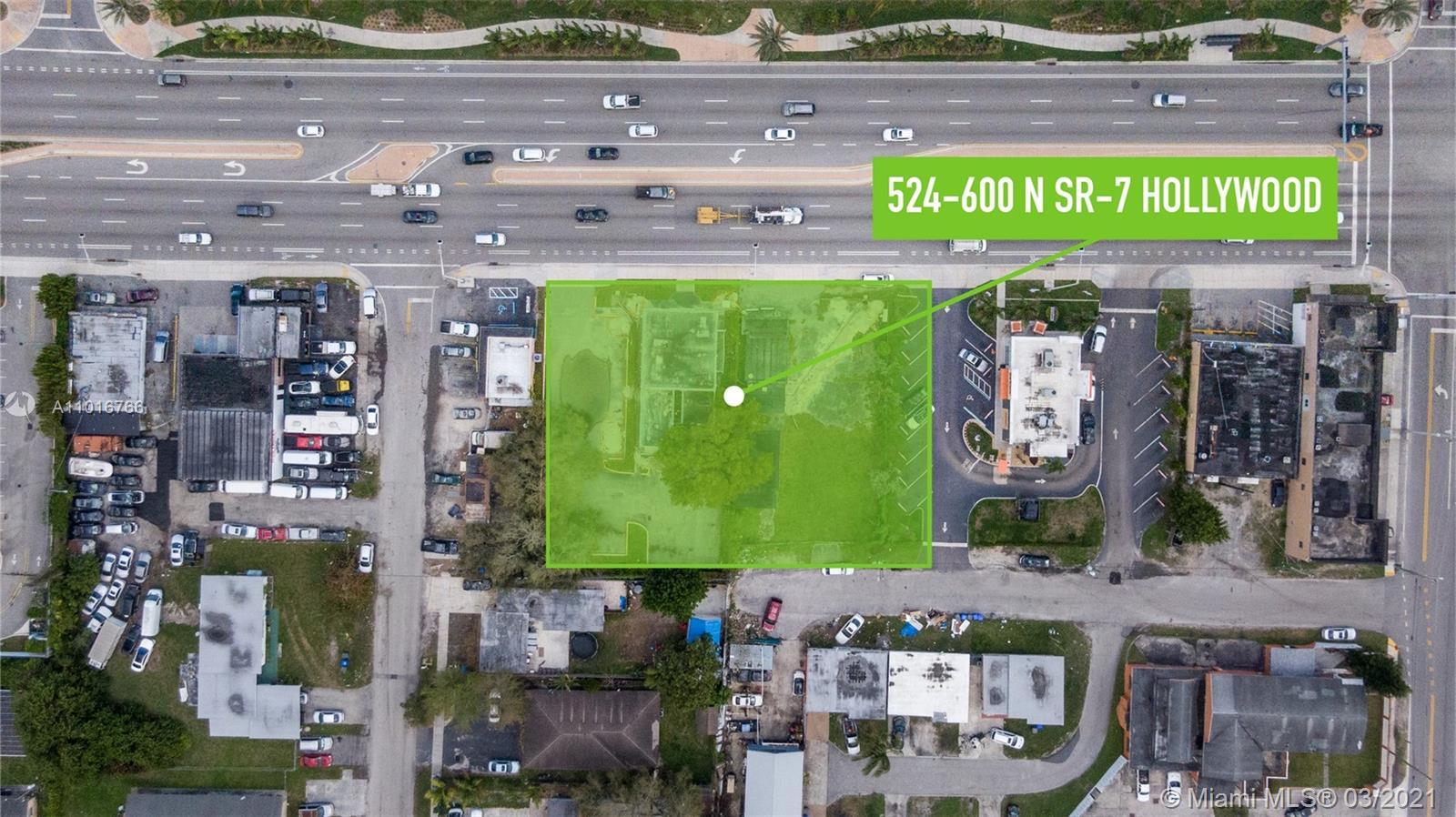 RESF Commercial is pleased to present this great development opportunity directly on 441/SR-7 with T