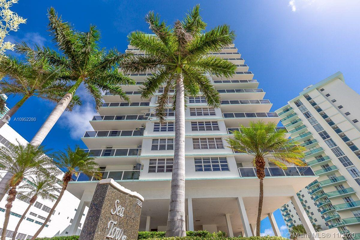 "Oceanfront condo in the beautiful Hallandale Beach, next to the Diplomat Hotel.  The building has been remodeled beautifully.  The unit is large enough to convert into two bedrooms.  Daily rentals available.""5% down loan options available to those who qualify"""