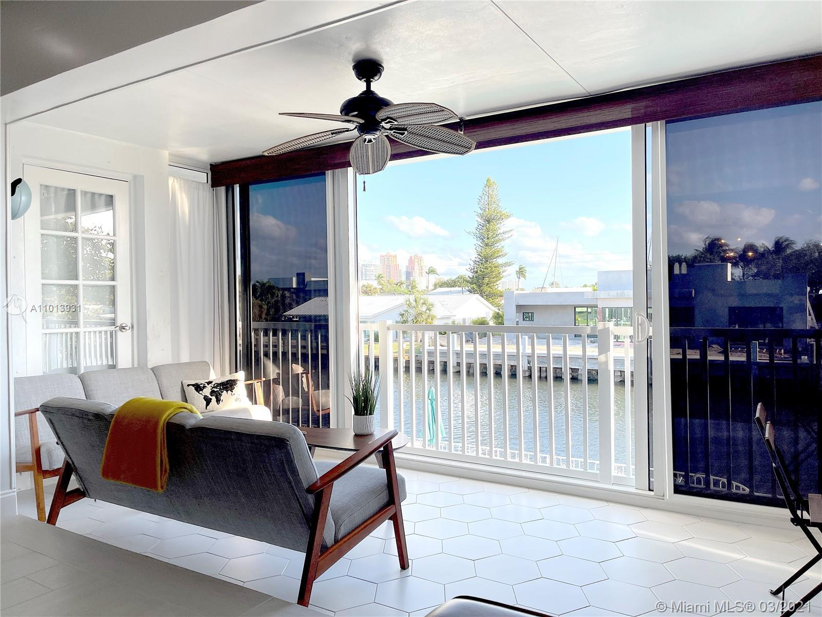 AMAZING WATERFRONT VIEW! RENOVATED and READY TO MOVE IN!  This is the only unit in the building wi