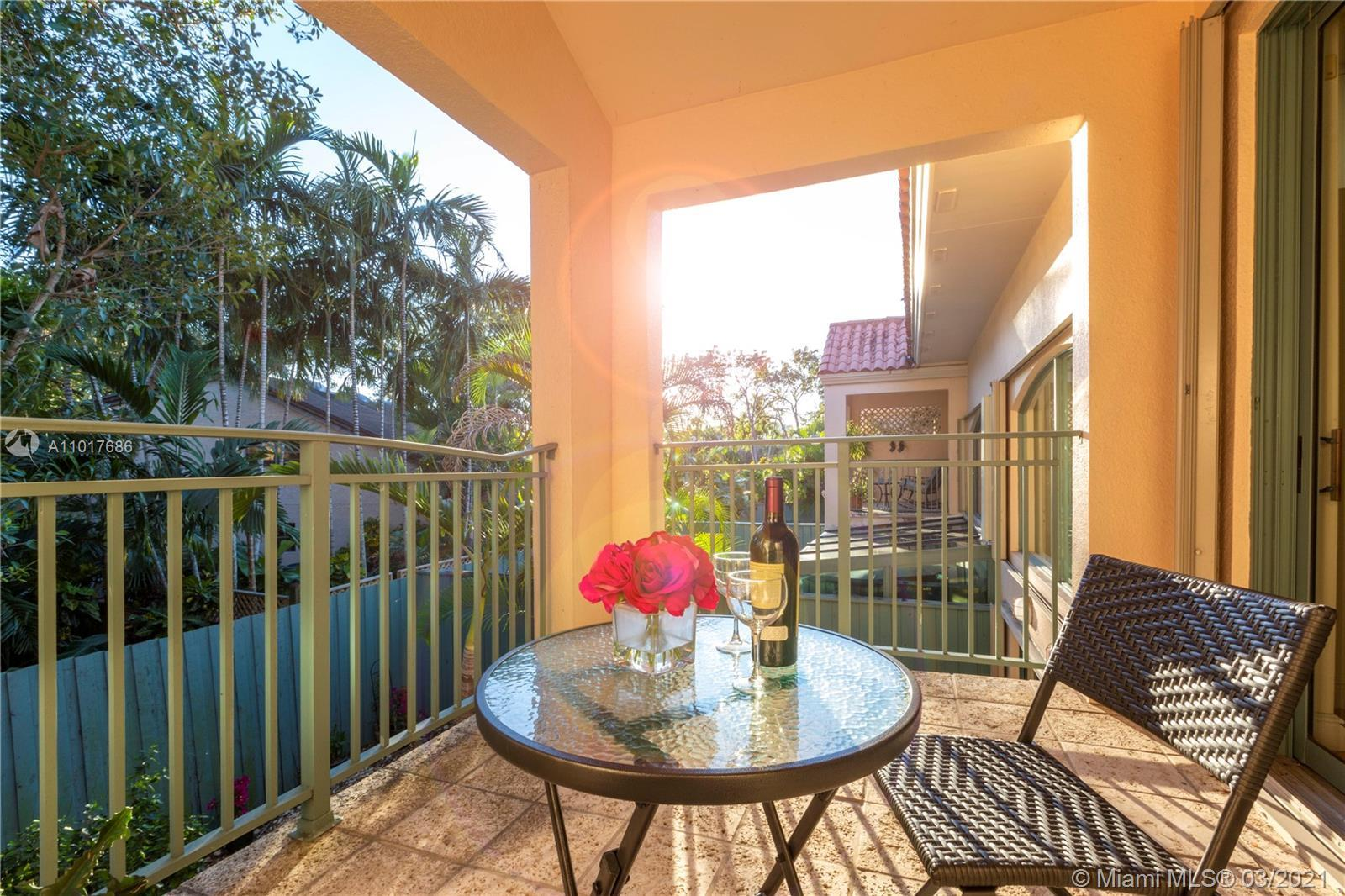 Remarkable and spacious two story, 4-bedroom 3-bath townhouse in Pinecrest exclusive Swan Lake. Huge