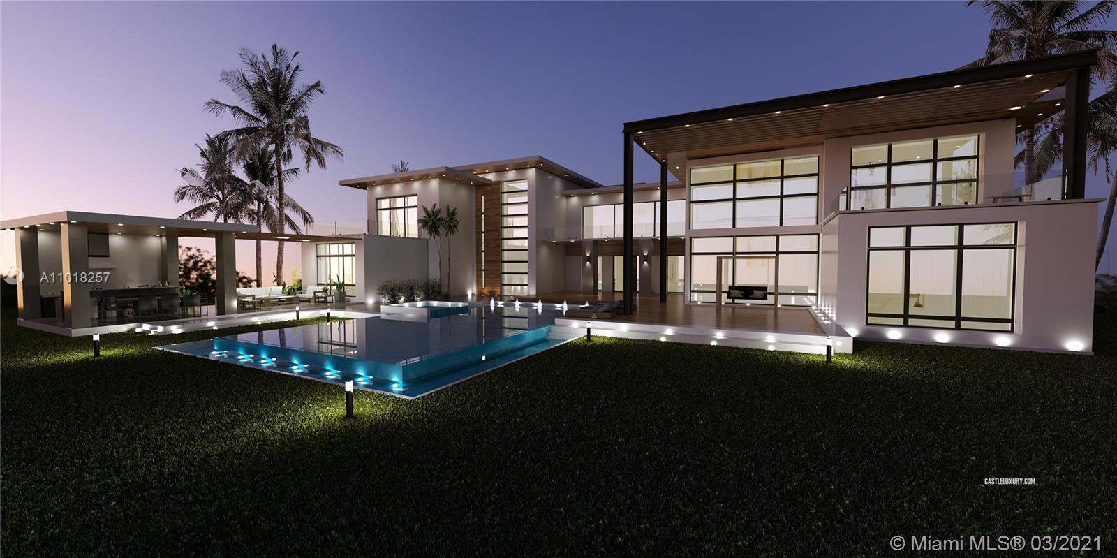 The Oasis is a spectacular masterpiece of contemporary architecture and design by Castle Luxury Home