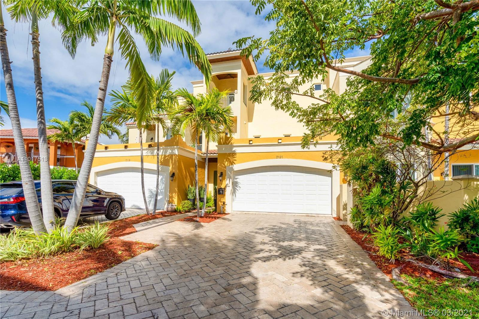 One of a kind townhome in the prestigious Dolphin Isles in east Fort Lauderdale. This 3 bedroom, 4 b
