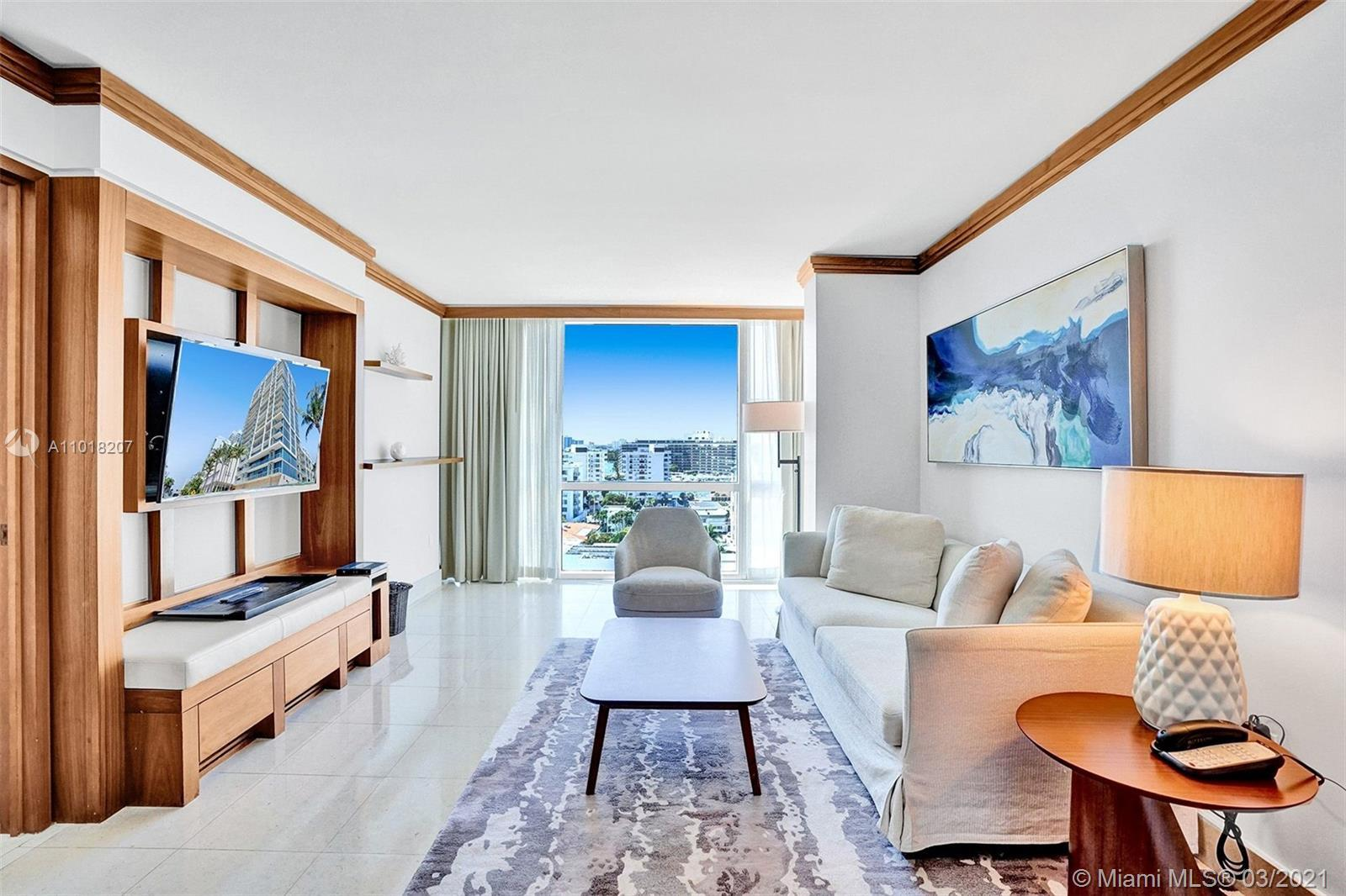 Experience condo/hotel luxury oceanfront living at its best! OWNER HAS THE OPTION TO ENROLL IN THE H