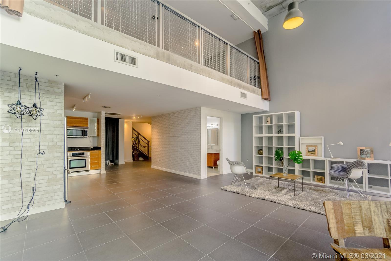 Unique 2 Story- Live/work Loft style 1,737 SF  under AC - 1,804 SF total- This property can be conve