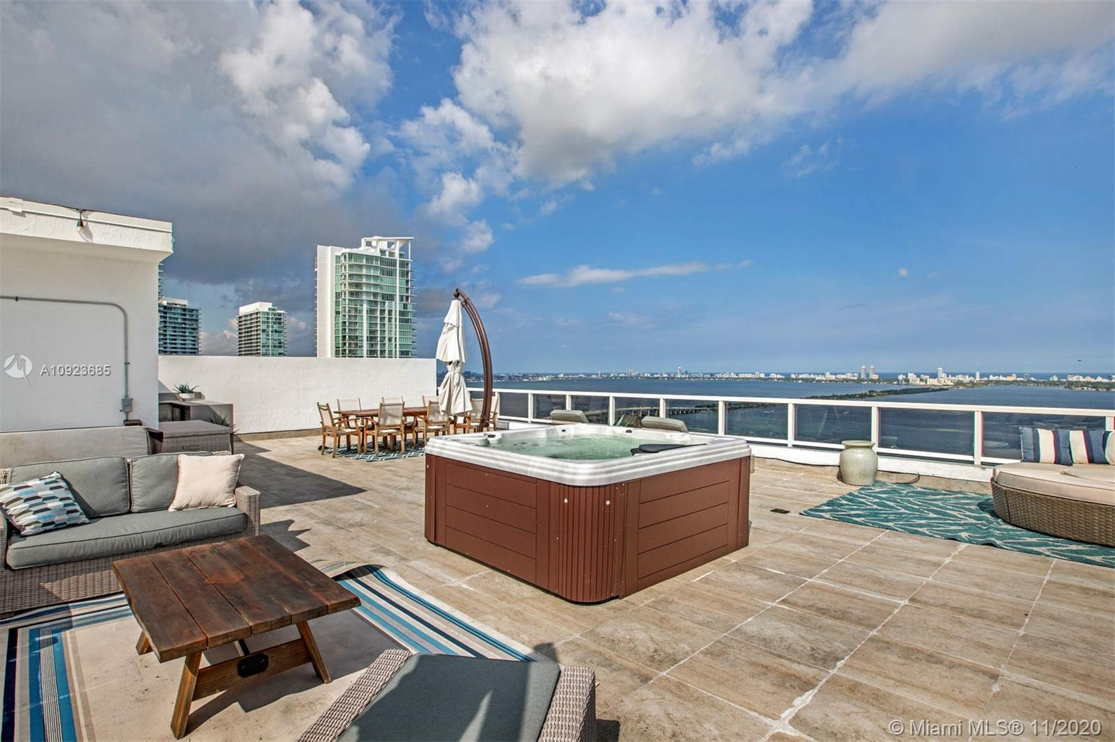 MAJOR PRICE REDUCTION!! BEST PRICED DUPLEX PENTHOUSE IN MIAMI with PRIVATE ROOFTOP Live high-in-the