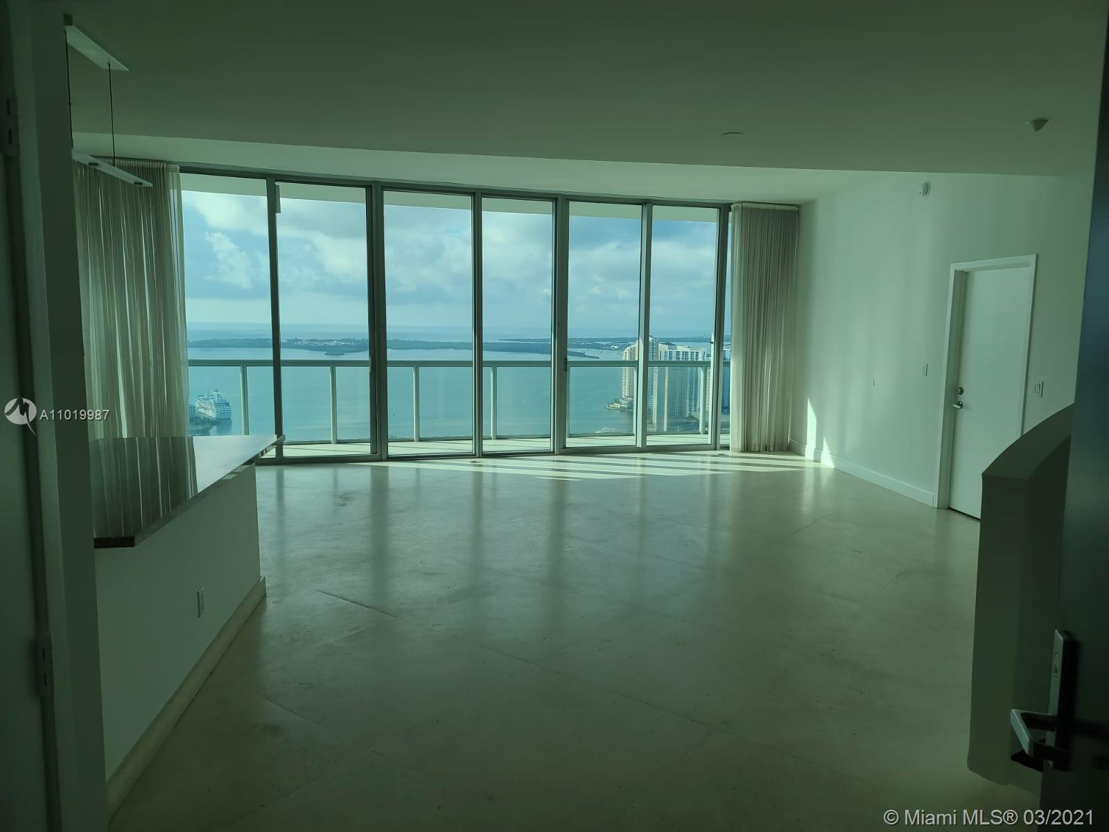 Breathtaking city and ocean views from this stunning 3 bedroom/3.5 bath, 2-story apartment on 55th a