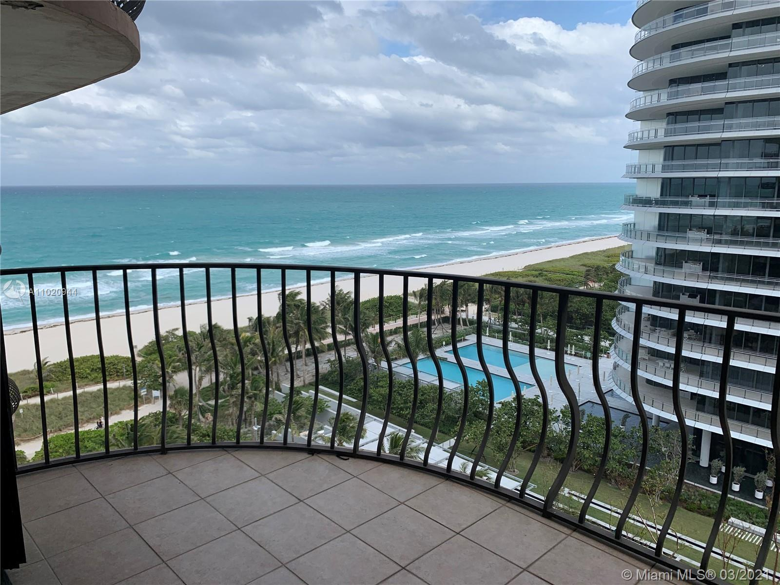 Luxury building on the ocean. Ocean View! Spacious open space layout apartment with beautiful views.