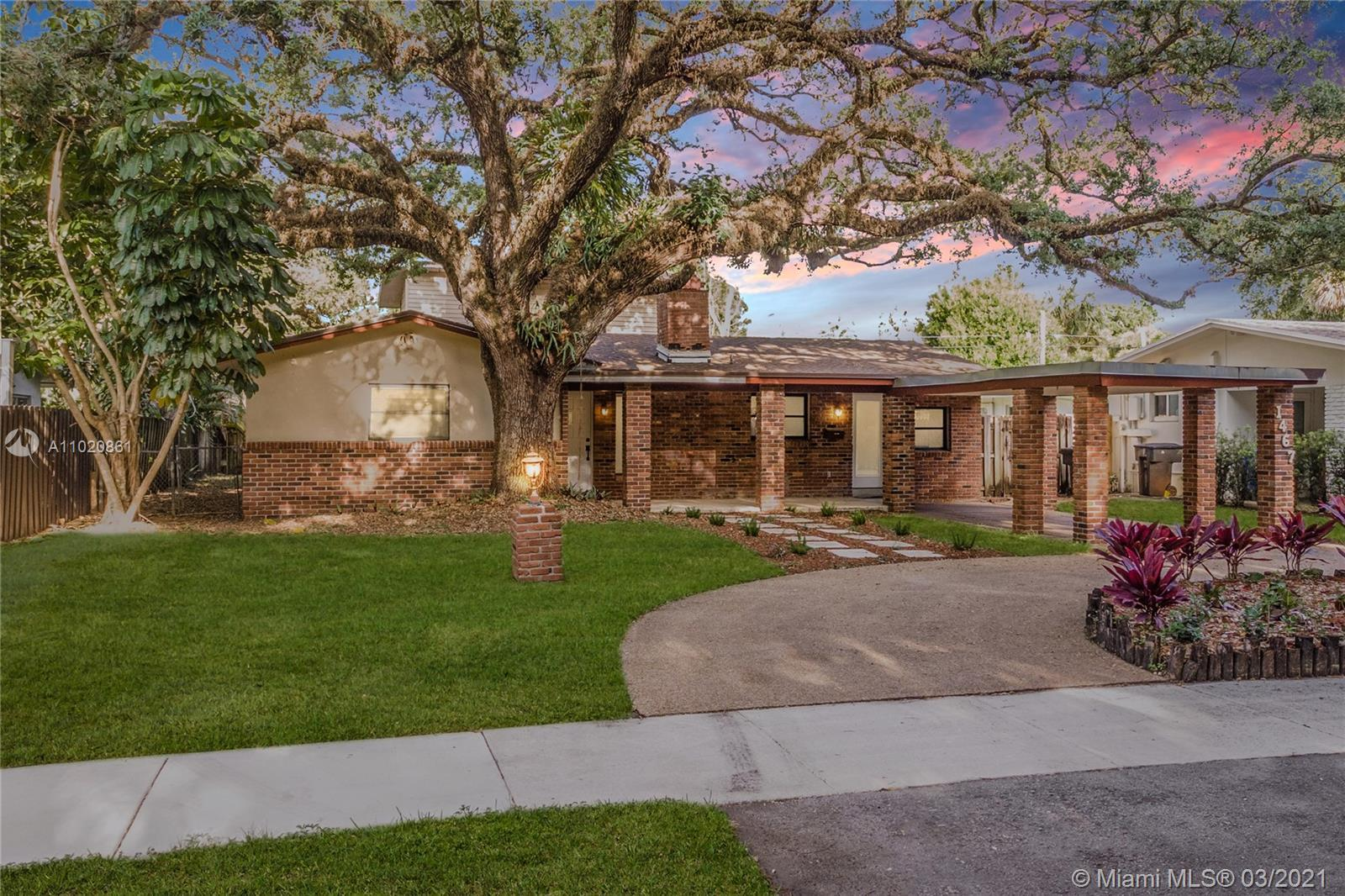 This two story single family home is found on a quiet , tree lined street in Shady Banks, one of For