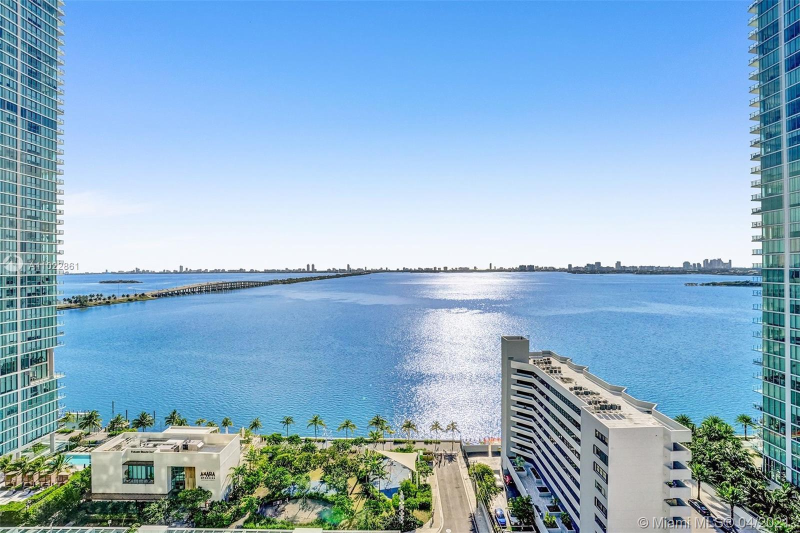 Stunning luxury upgraded corner apartment with breathtaking Water and city views. Private elevator a
