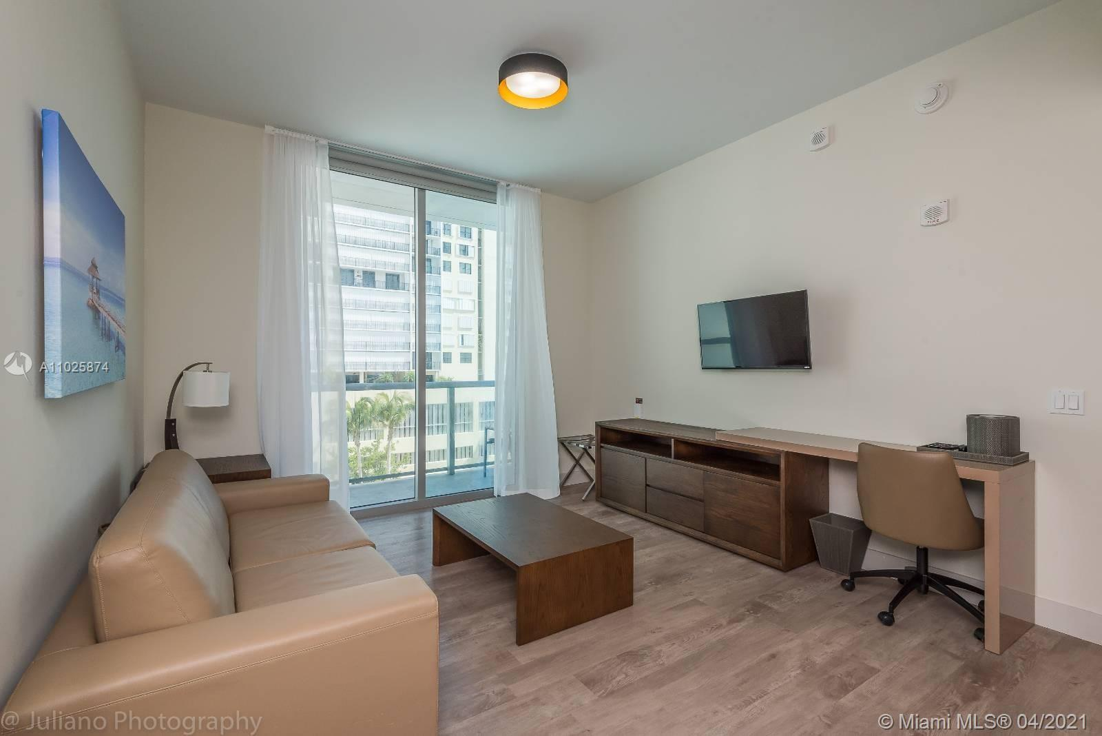 Beautiful condo-hotel unit, excellent investment with no rental restrictions, completely furnished w