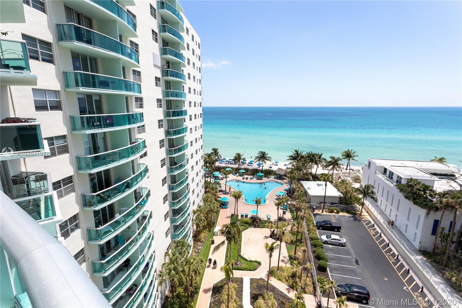 ONE OF THE MOST DESIRABLE  OCEAN VIEWS IN THE BUILDING. COMPLETELY RENOVATED AND UPGRADED UNIT.  GRE