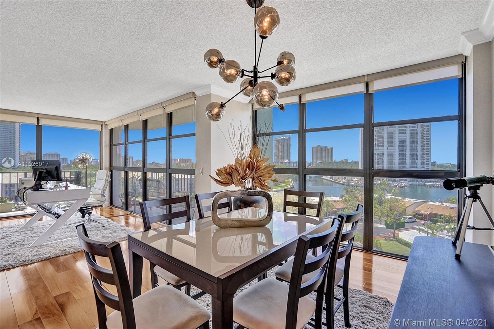 Stunning views from this beautiful corner unit with floor to ceiling windows. Direct views on the in