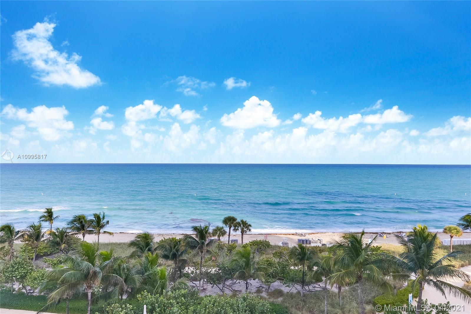At Bal Harbour Florida Balmoral Condo located on 9801 Collins Ave unit 5H, across the street from th