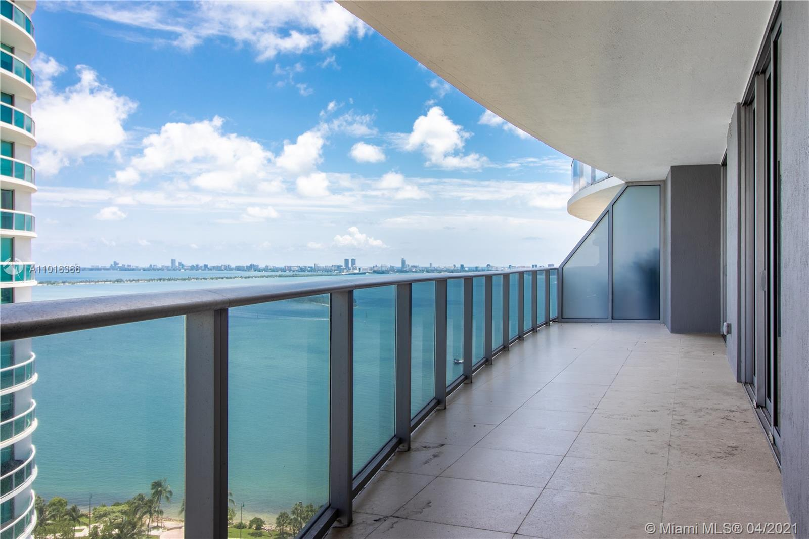 Rare 11 line, 2 bedroom + den converted to 3rd BR.  Private foyer opens to upgraded unit with floor