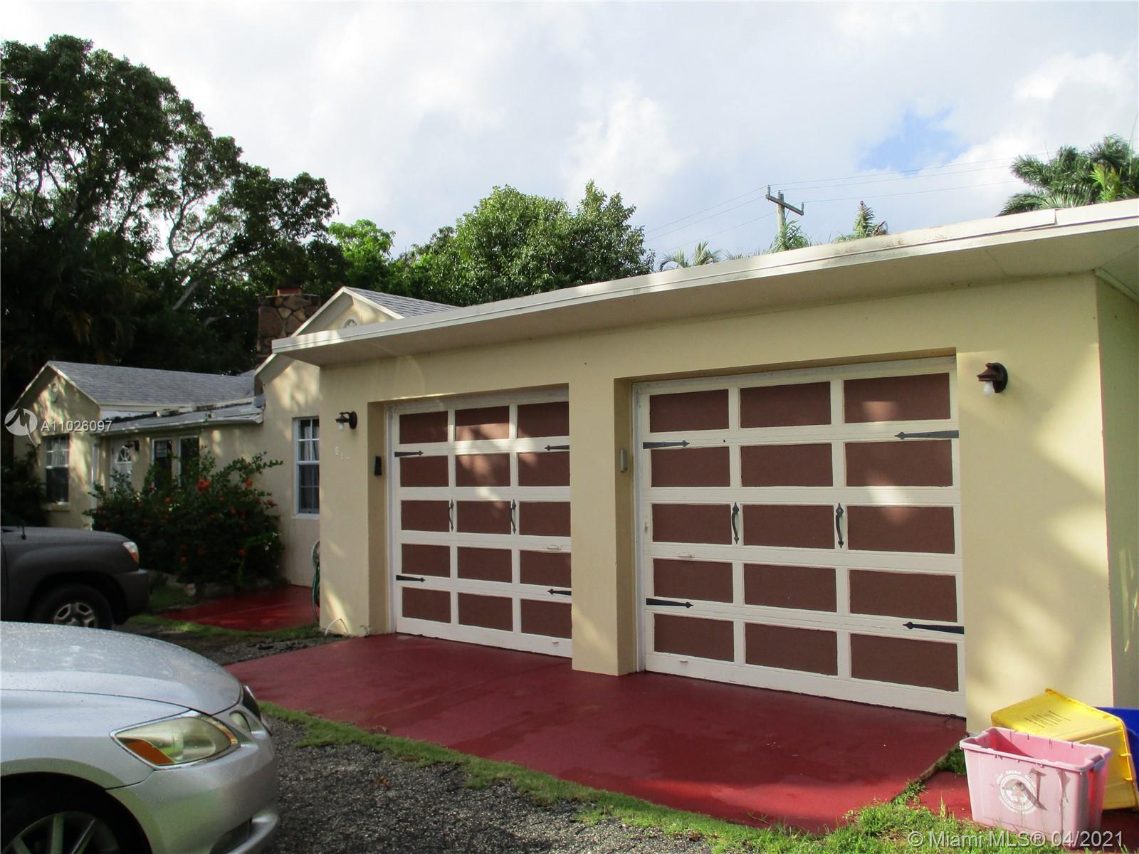 An investors dream four doors from intracoastal, rare double lot .