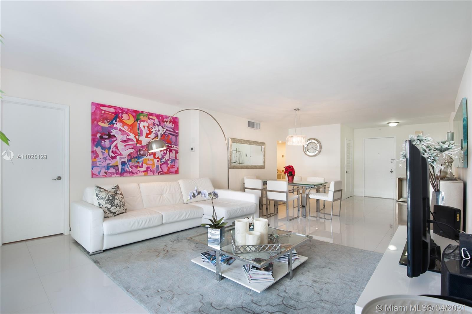 The Balmoral Condo unit 20V, at Bal Harbour Florida 33154, across Bal Harbour Shops, next to The St