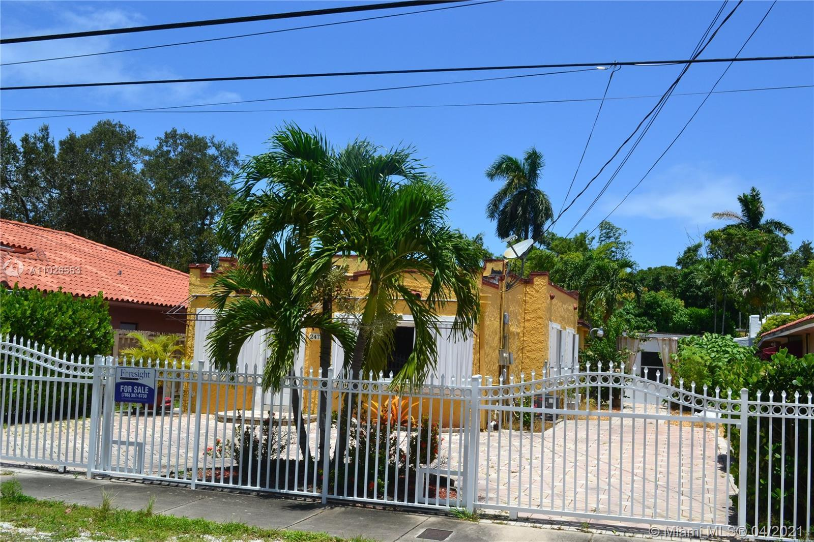 Great Opportunity to buy a Spanish Style Single Family Home at Stuart Subdivision nearly Coconut Gro
