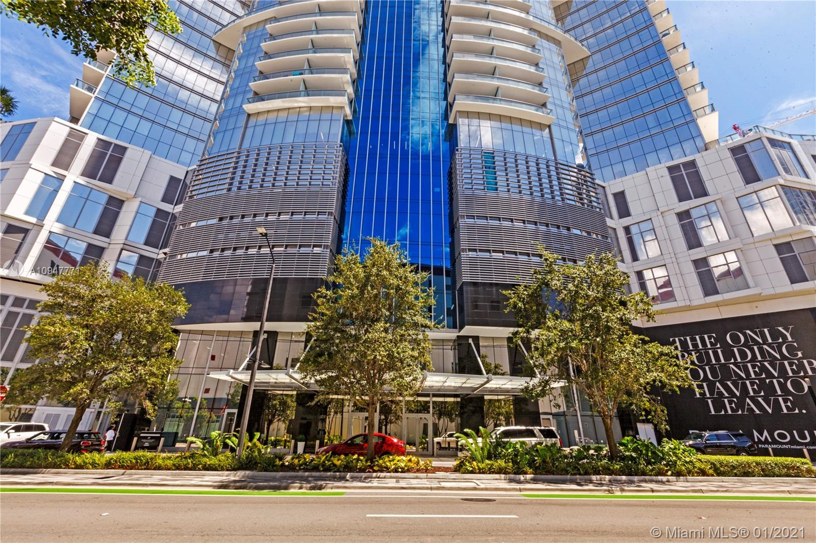 Premium SE view overlooking downtown Miami & Biscayne Bay this highly customized unit is being sold