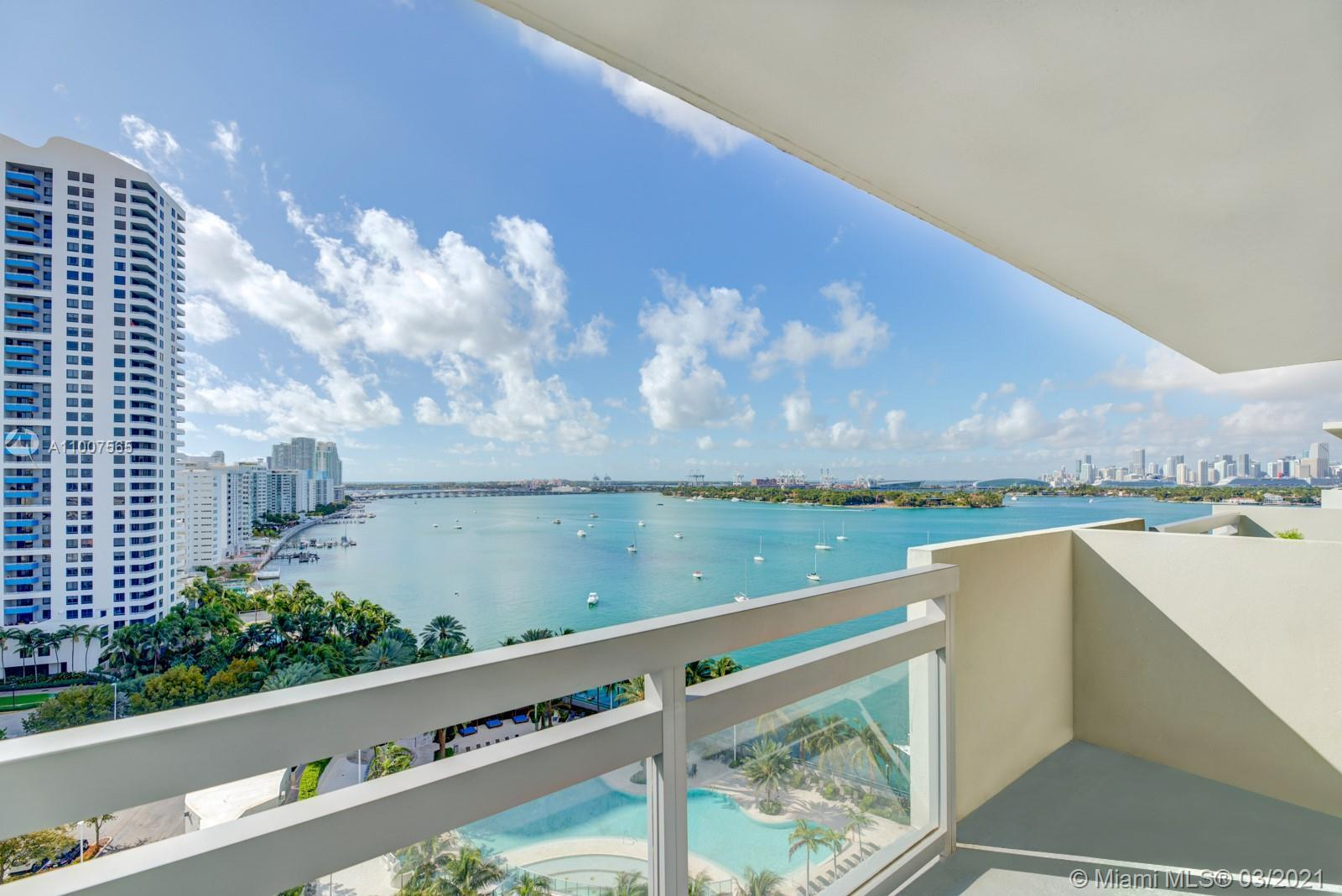 Stunning waterfront penthouse that has been meticulously and tastefully remodeled. The unit has maxi