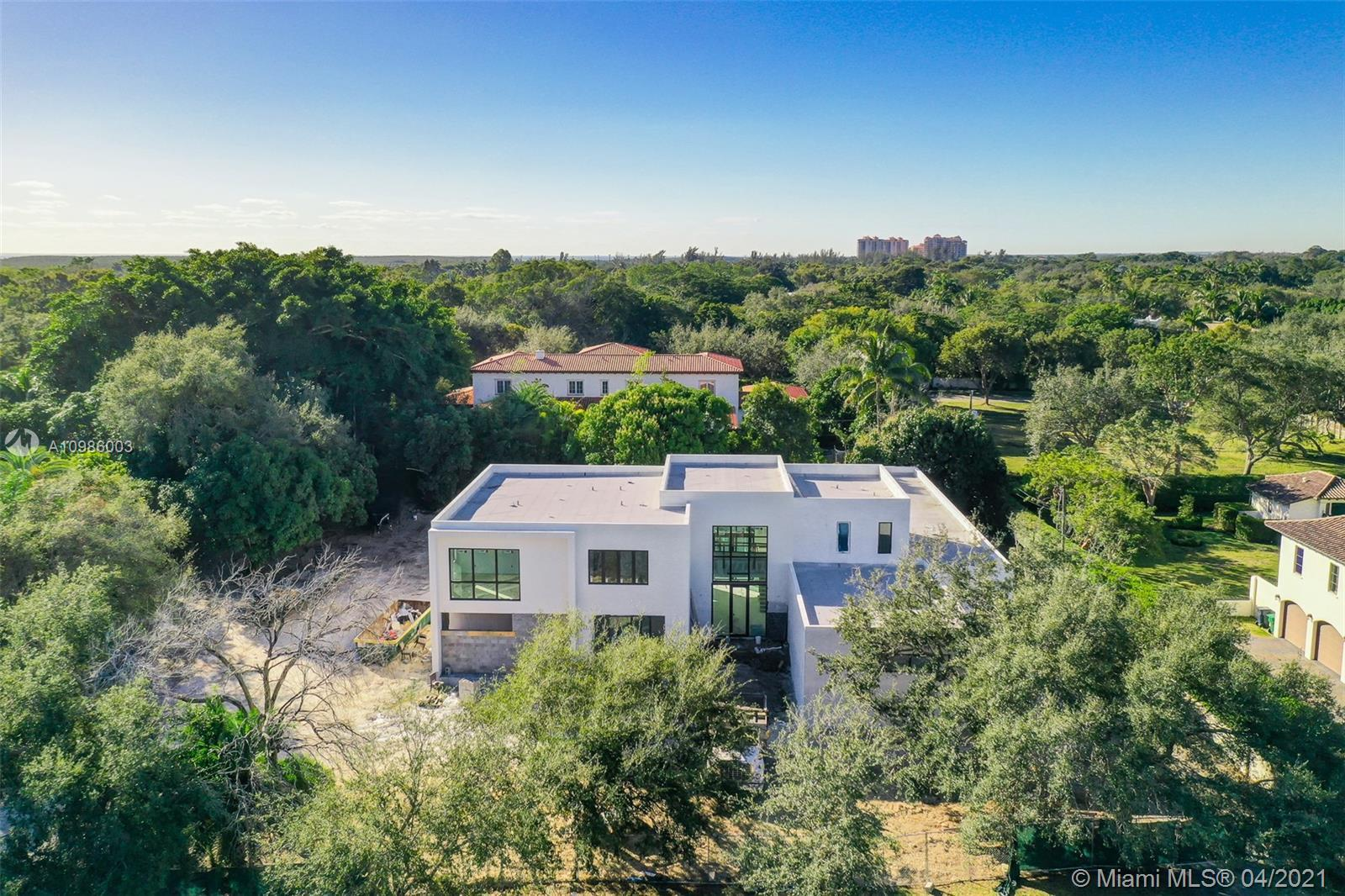 ~ SPECTACULAR CONTEMPORARY MODERN NEW CONSTRUCTION HOME ON QUIET STREET IN PREMIER PINECREST LOCATIO