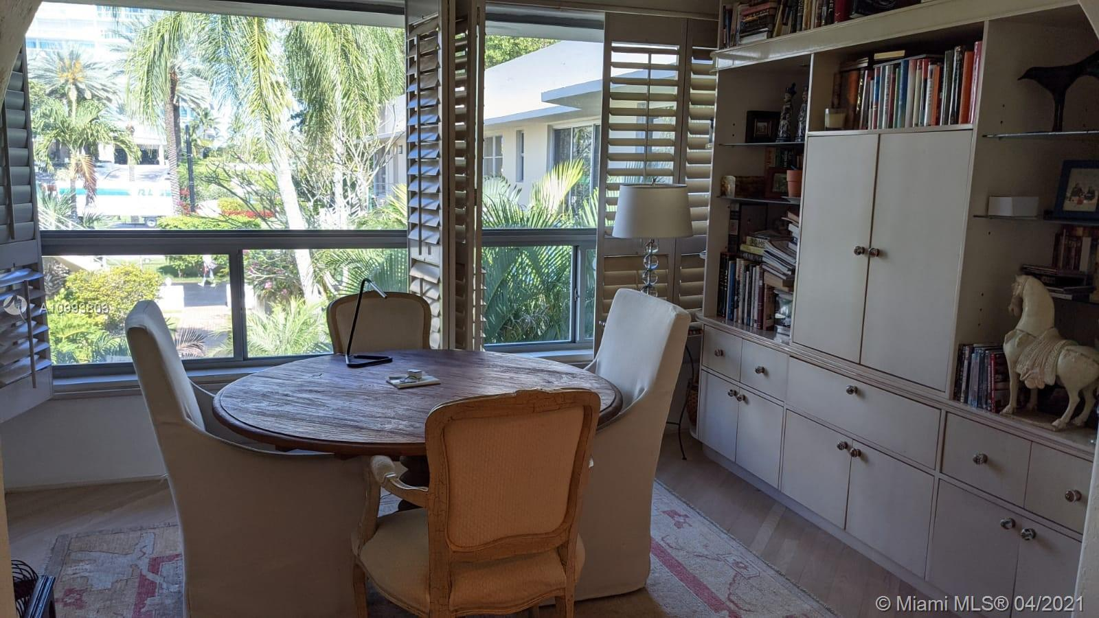 Bal Harbour is an elegant neighborhood to live walking distance to the beach and prestigious Bal Har