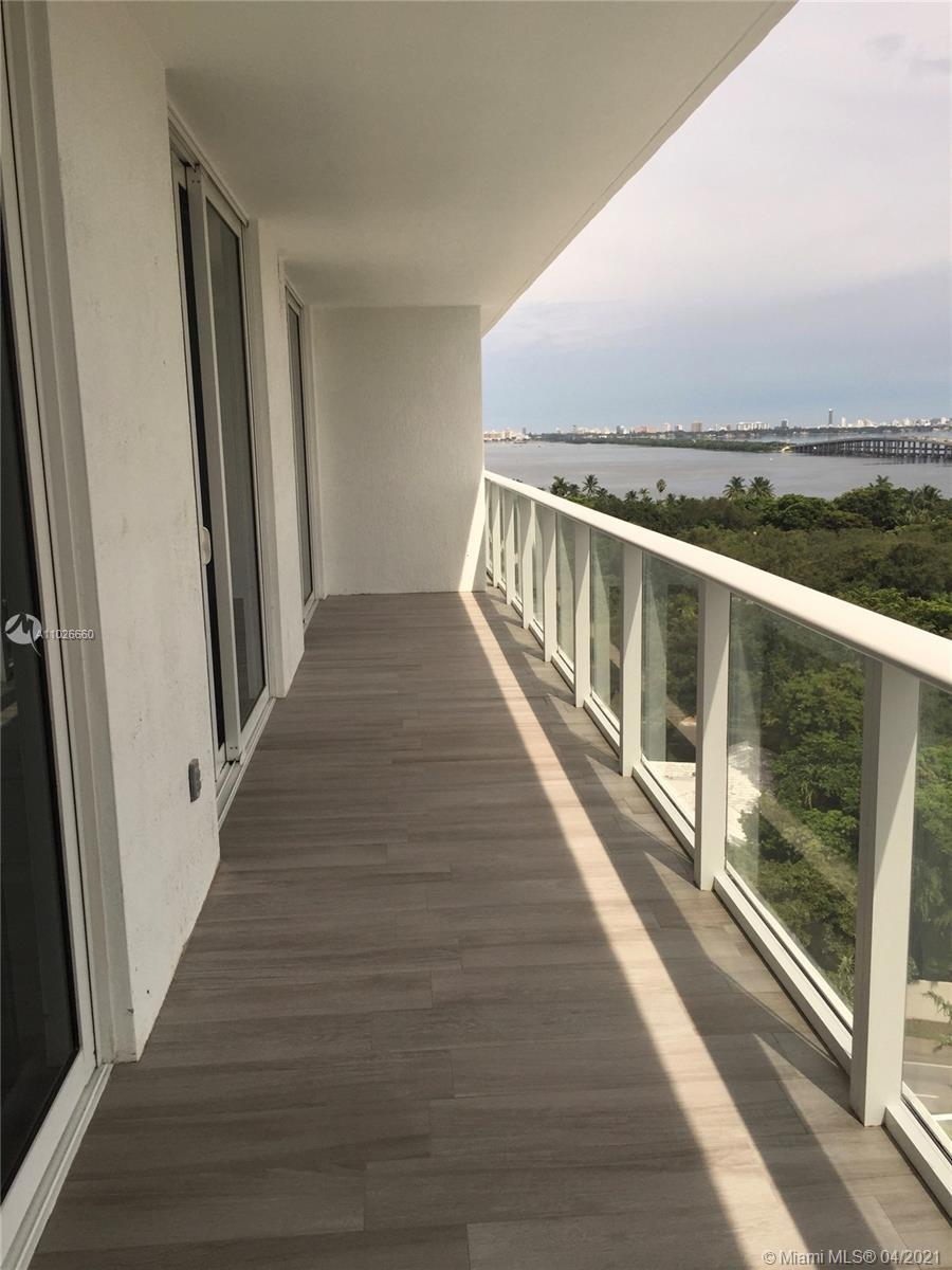 South Florida Riches presents a 2/2 with a city and water view and 2 parking spaces included with th