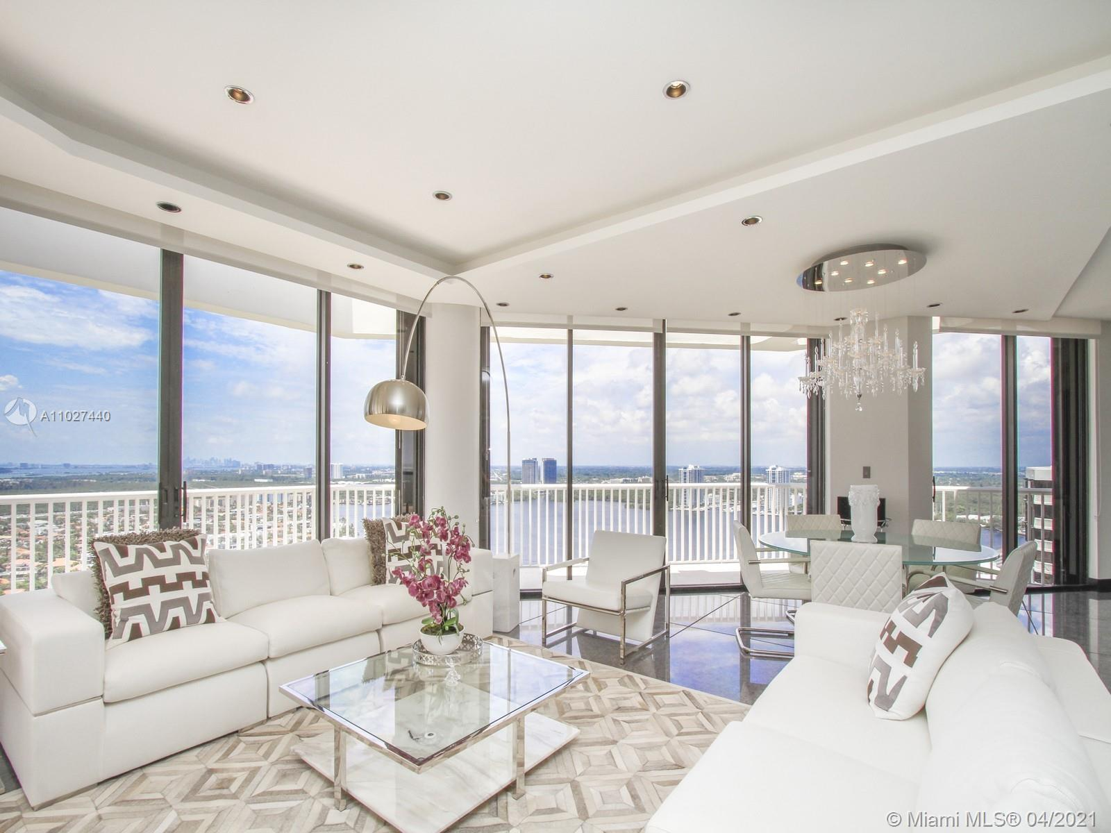 SPECTACULAR 2 STORY FULLY FURNISHED 3 BEDROOM 4 /5 BATHROOM PENTHOUSE! RECENTLY RENOVATED AND DESIGN